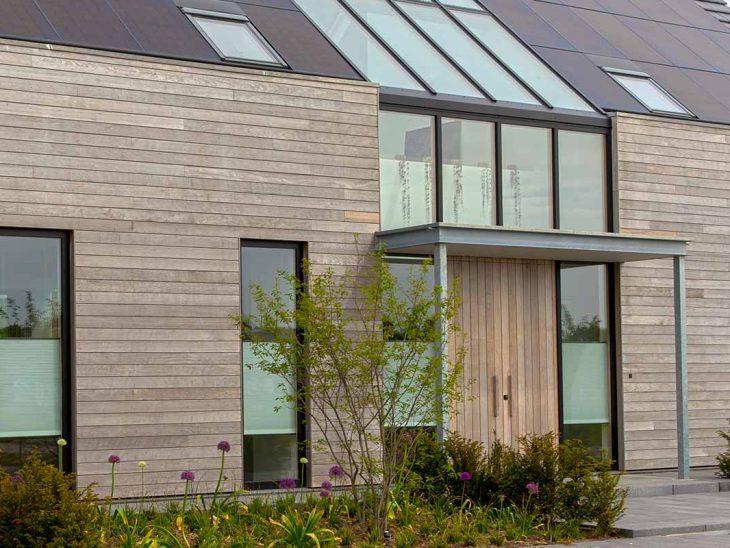 Luxe houten voordeur