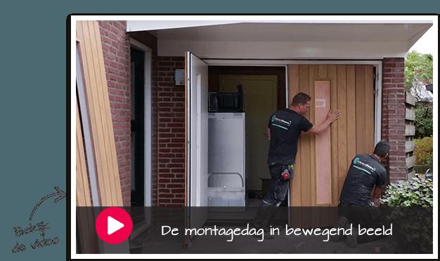 houten voordeur montage