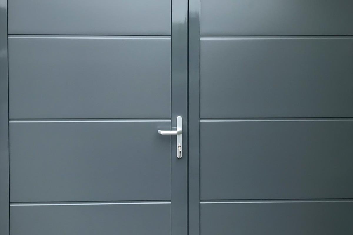 Aluminium-kozijn-stalen-panelen