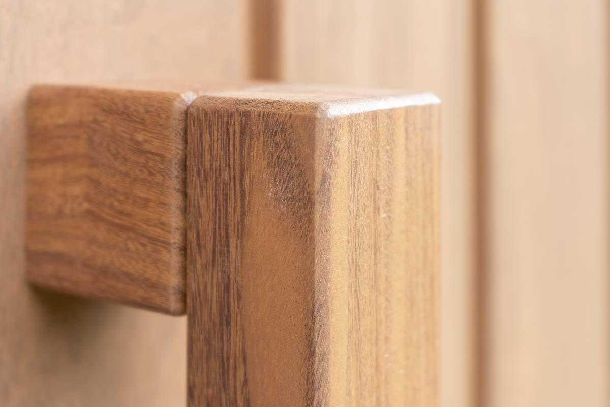 deurgreep hout