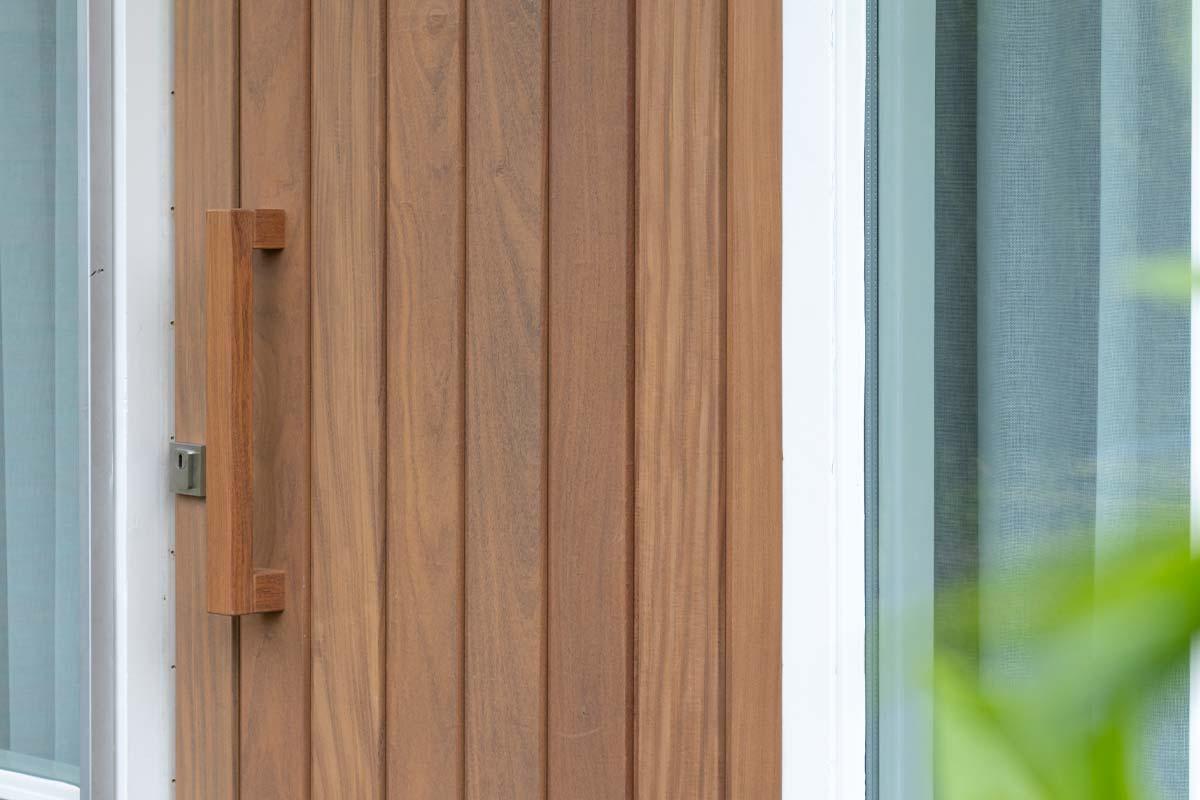 houten voordeur landelijk