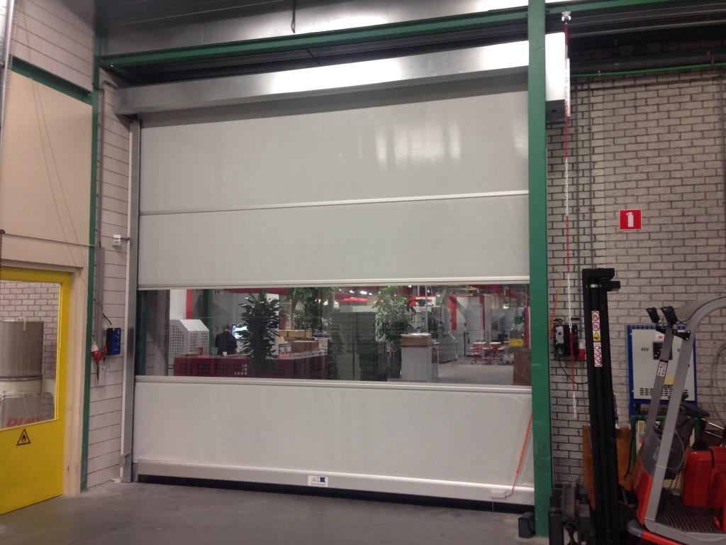 Snelloopdeur-industrie-deur