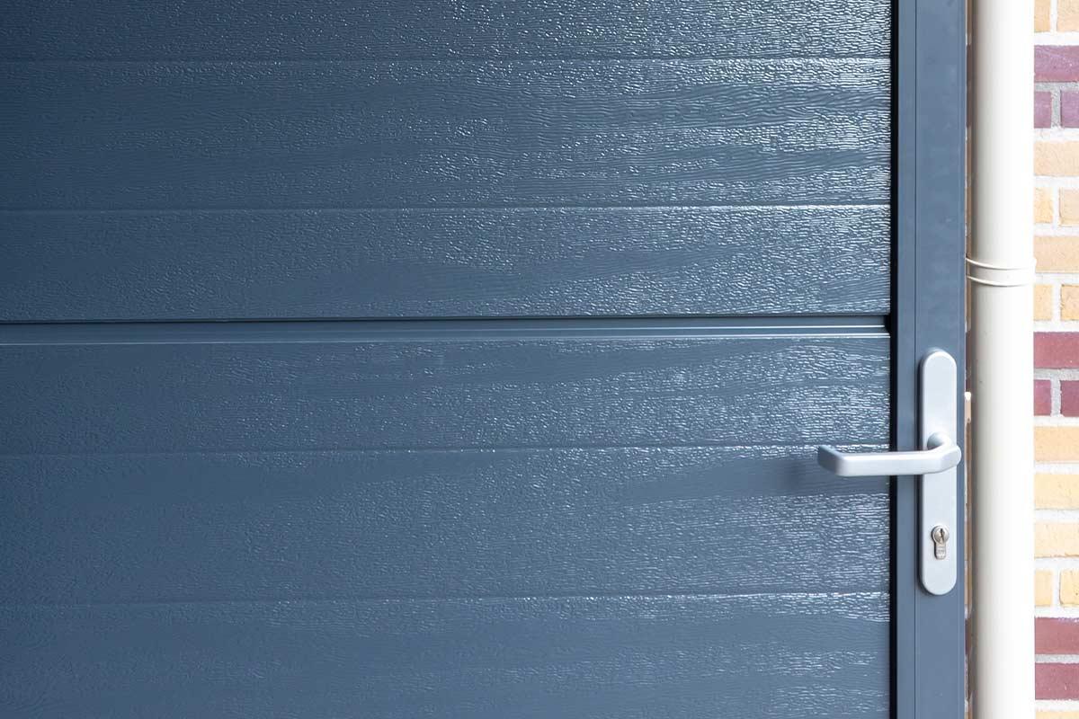 houtnerf paneel garagedeur