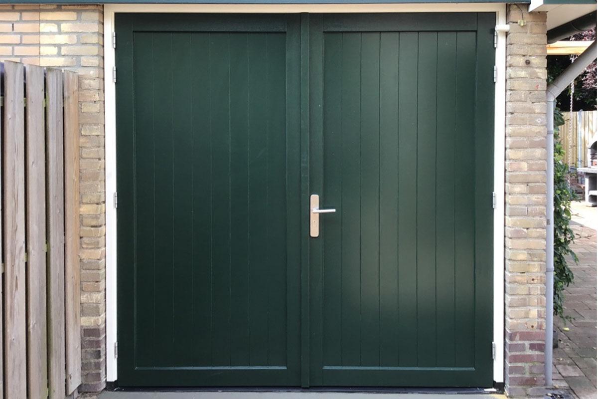 houten openslaande garagedeur (2)