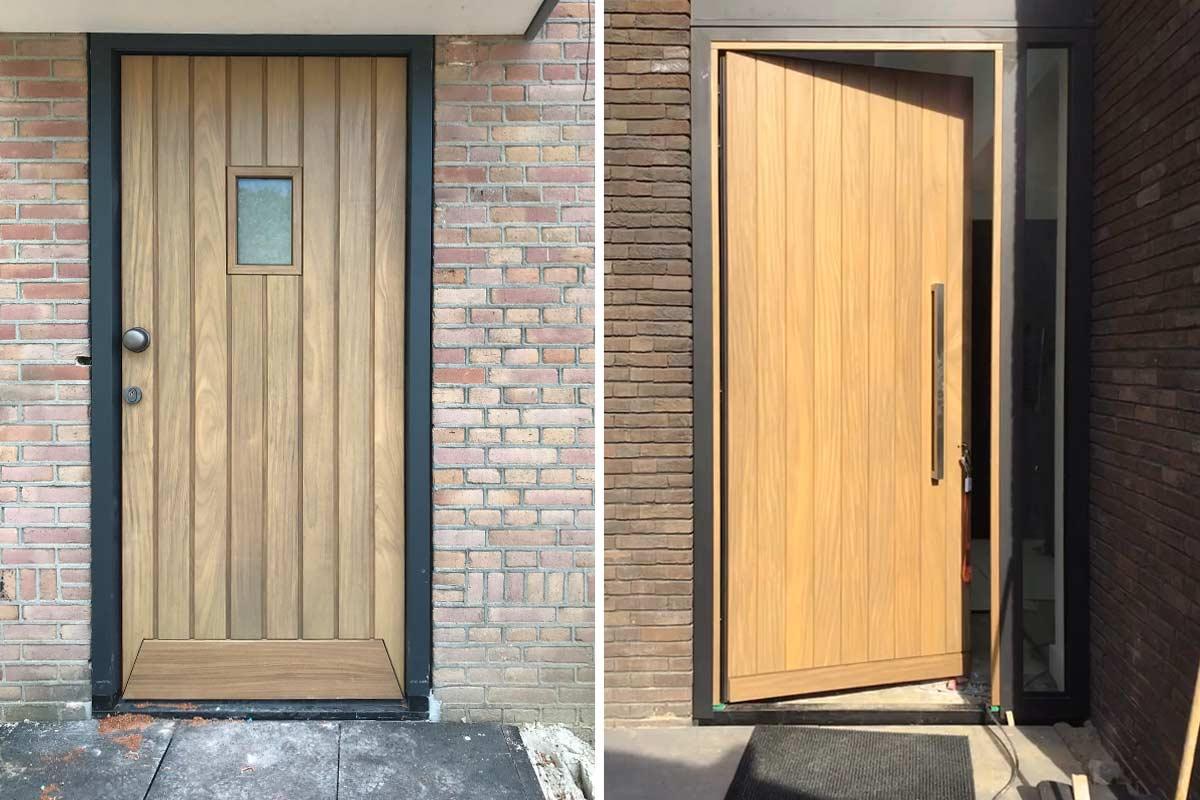 houten-voordeur