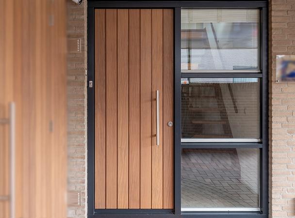 Ongebruikt Nieuwe houten voordeur? » Geef uw huis karakter! ⋆ Unieke AJ-29