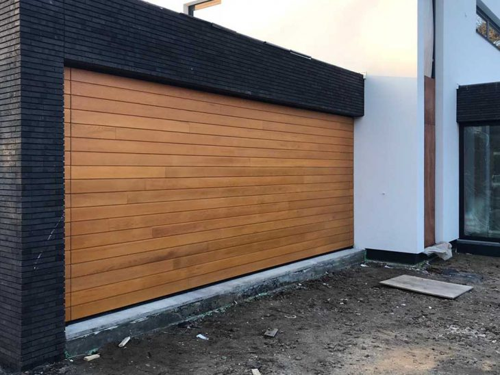 houten sectionaaldeur