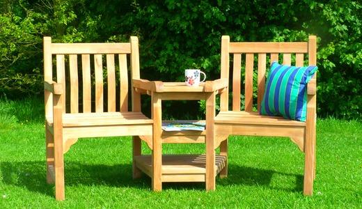 Windsor Couples Garden Bench