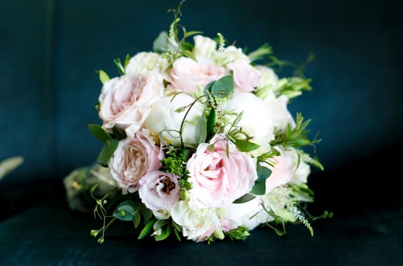 Cream Blush Bridal Bouquet