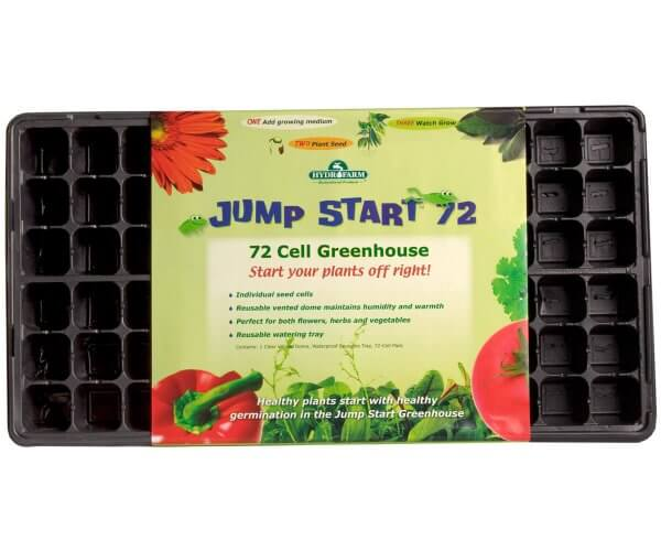 72 cell greenhouse flat plant starter kit