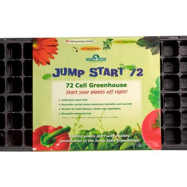 72 cell greenhouse flat plant starter kit