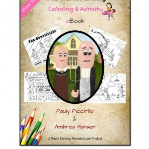 Worm Farming Coloring & Activity eBook
