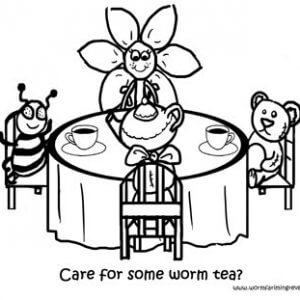 Worm Tea Party