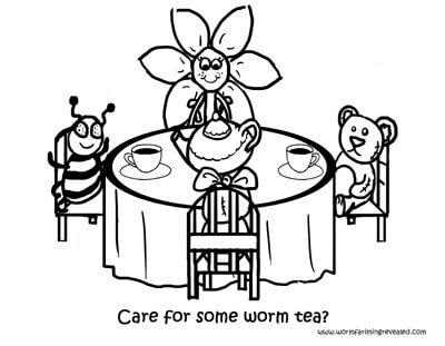 Worm Tea Party