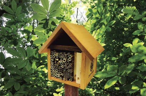 Garden Tower Bee Cabin Leafcutter