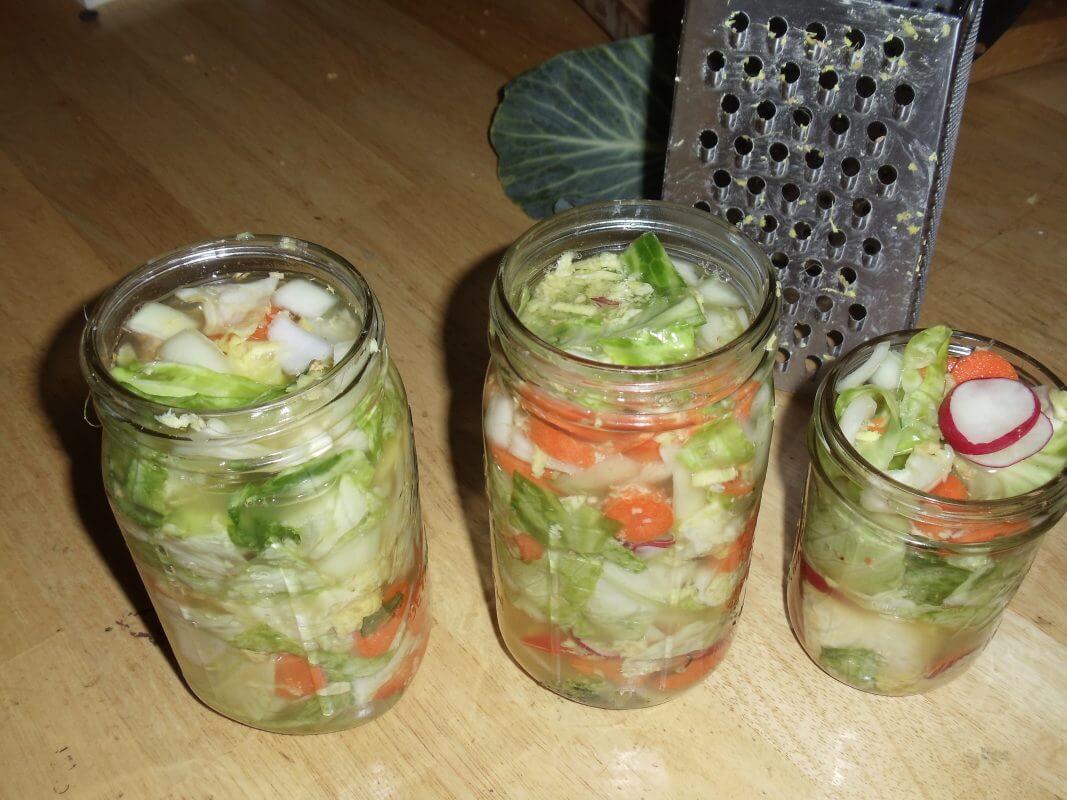 Rhonda's kimchi.