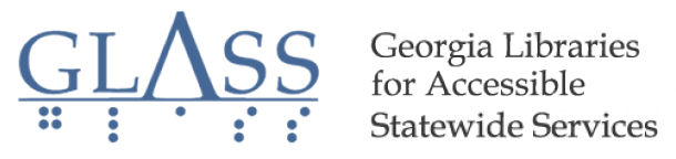 Georgia Library for Accessible Services (GLASS) Logo