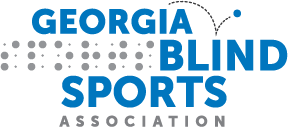 Georgia Blind Sports Association Logo