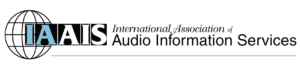 International Association of Audio Information Services Logo