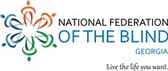 National Federation of the Blind of Georgia Logo