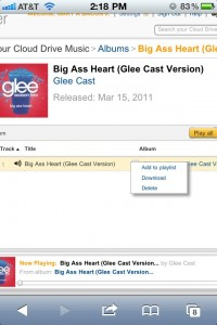 Glee Song