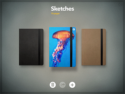 Paper - Sketches Screen