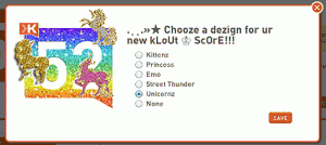 Klout Unicorns