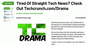 TechCrunch Drama