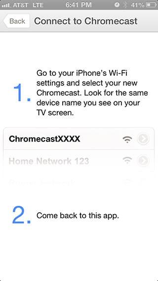 Chromecast - Wifi