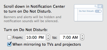 Notification Preferences