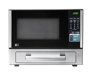 LG 1.1 cu. ft. Countertop Microwave Oven with Baking Oven