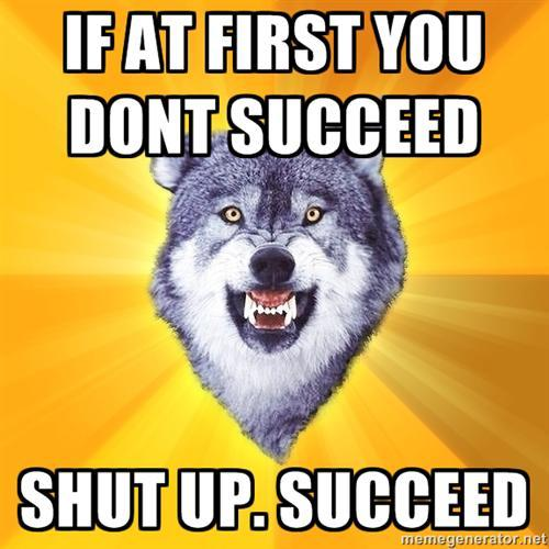 Insanity - workout - wolf meme