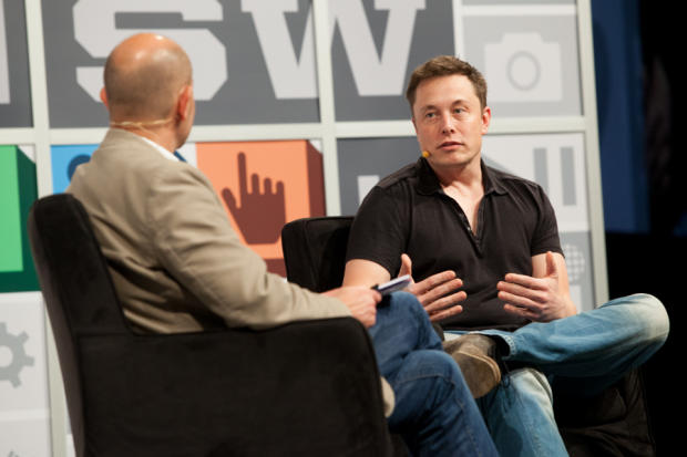 Elon Musk with Chris Anderson @ SXSW 2013