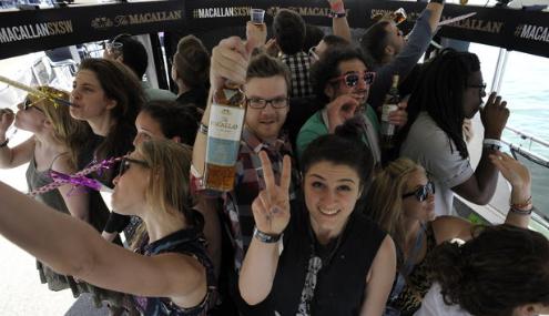 Macallan Booze Cruise @ SXSW 2013