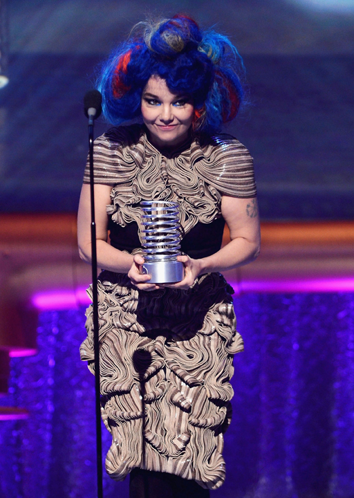 Bjork at the 16th Annual Webby Awards