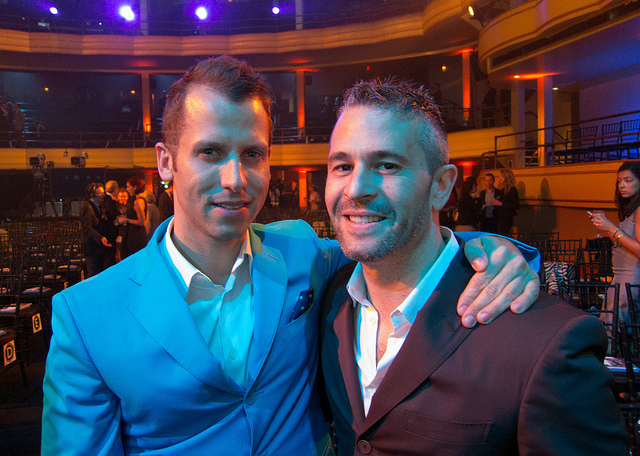 Fab.com founders Bradford Shellhammer & Jason Goldberg at the 16th Annual Webby Awards