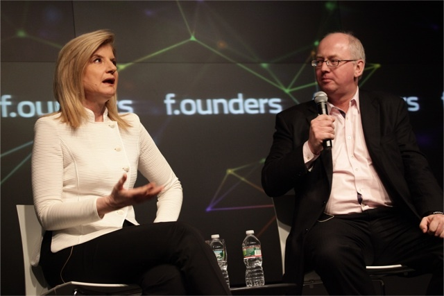 Arianna Huffington at NASDAQ at F.ounders NY 2012 at NASDAQ