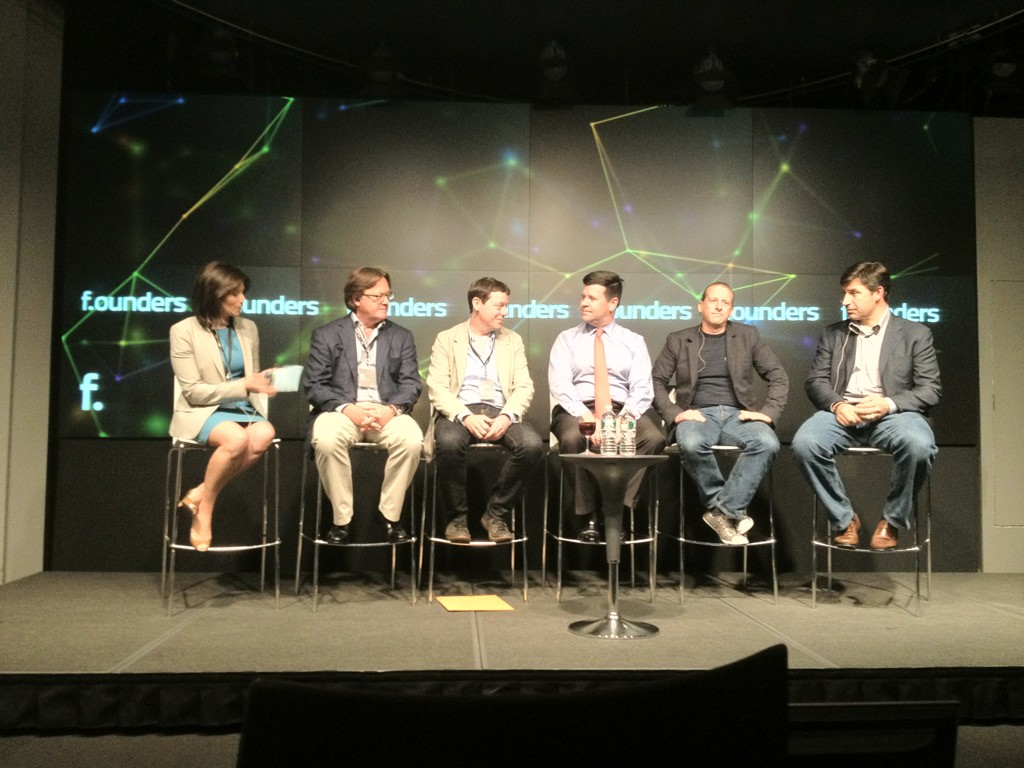 The Road to IPO with Deirdre Bolton (Bloomberg), Eric Hippeau (Lerer Ventures), Fred Wilson (Union Square Ventures), Bob McCooey (NASDAQ), Rich Miner (Google Ventures) and Anthony Noto (Goldman Sachs) at F.ounders NY 2012 at NASDAQ
