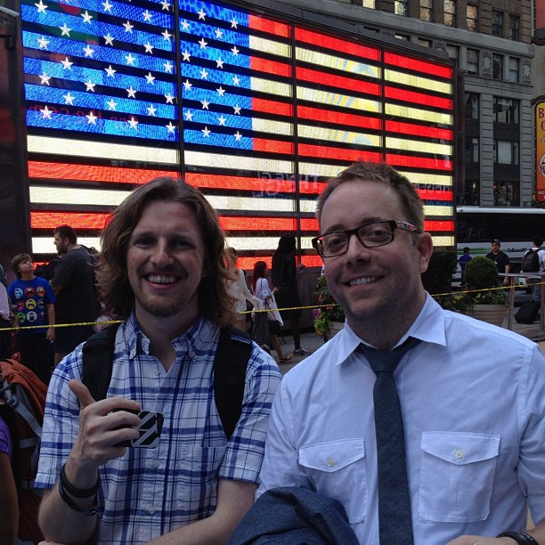 WordPress' Matt Mullenweg and CrunchFund's MG Siegler at F.ounders NY 2012 at NASDAQ