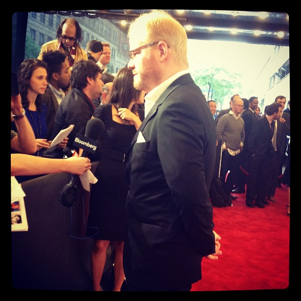 Comedian Jim Gaffigan at the 16th Annual Webby Awards