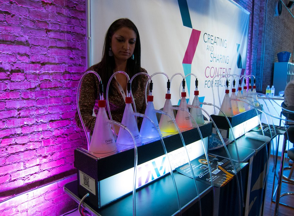 Demand Media's Oxygen Bar at Internet Week 2012 HQ