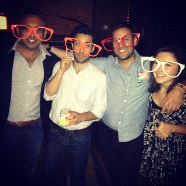 Stylecaster's Ari Goldberg, David Goldberg & Meghan Cross and Everyday Health's Mike Keriakos