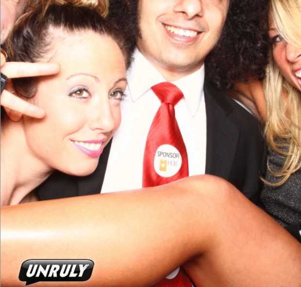 Gary's Famous (and Sponsored) Red Tie at Webutante Ball at Internet Week 2012