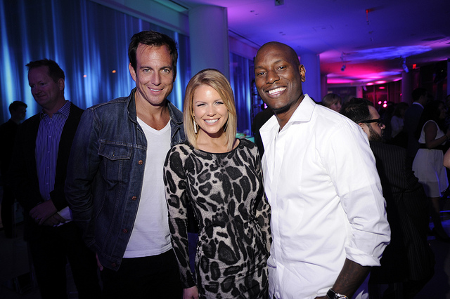 Actors Will Arnett, Carrie Keagan and Tyrese Gibson at the IAC / Aereo Internet Week Closing Party