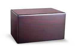 MDF Cherry Box Urn Image
