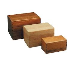 Elegant Wood Urn Image