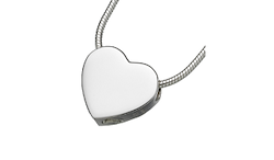 Slide Heart Pendant - Single Chamber Image