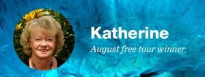 Katherine August free tour winner