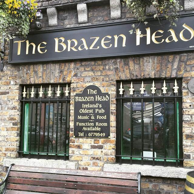 Brazen Head bar & restaurant in Dublin, Ireland