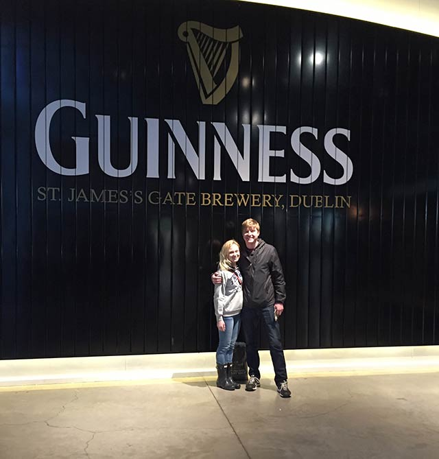 Guinness Brewery in Dublin Ireland